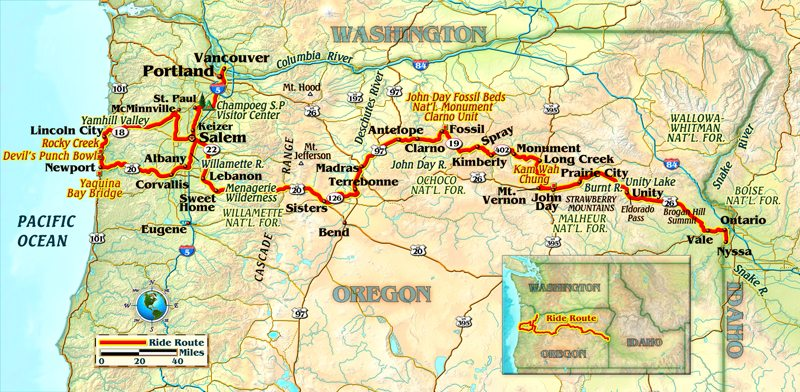 Riding Oregon on an Indian Rider Magazine