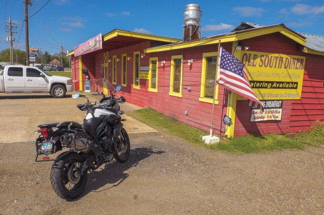 Louisiana motorcycle ride
