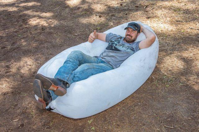 Kurt Yaeger motorcycle camping