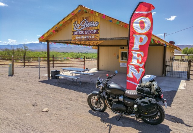 West Texas motorcycle ride