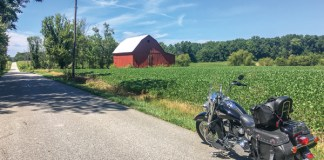 Indiana motorcycle ride