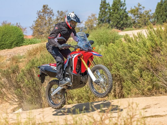 2017 Honda CRF250L Rally. Photo by Kevin Wing.