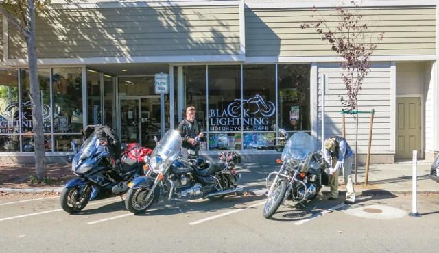 Oregon motorcycle ride