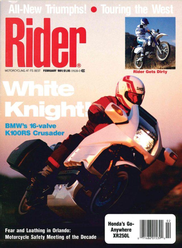 Rider cover 1991