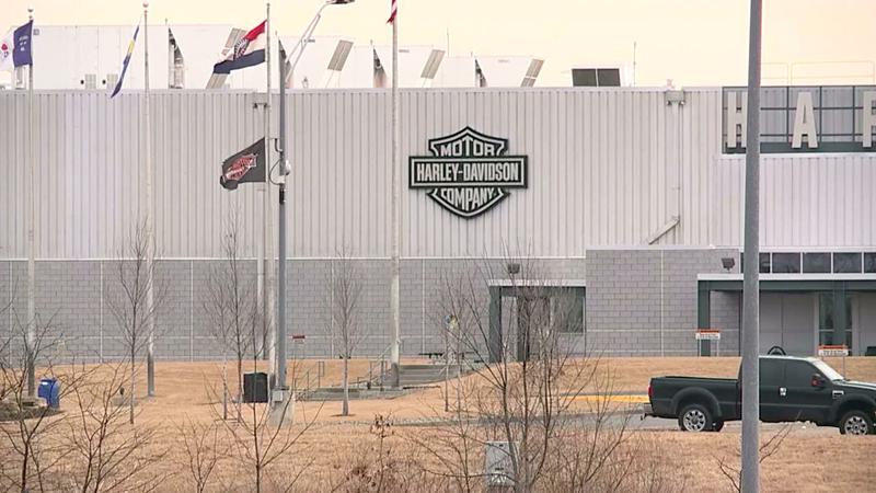 Harley-Davidson shutting down plant amid shipment decline