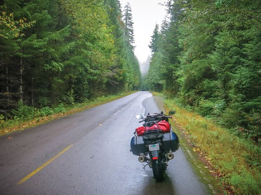 Oregon motorcycle ride