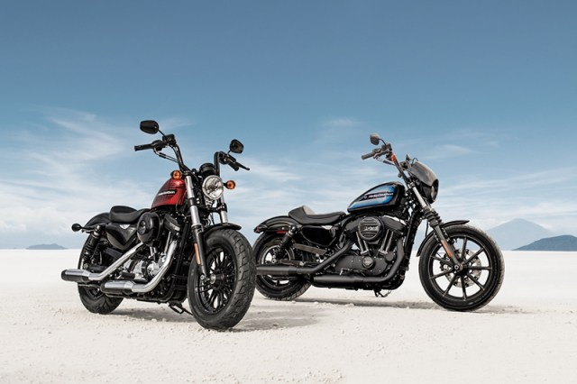 2018 Harley-Davidson Forty-Eight Special and Iron 1200 Sportsters