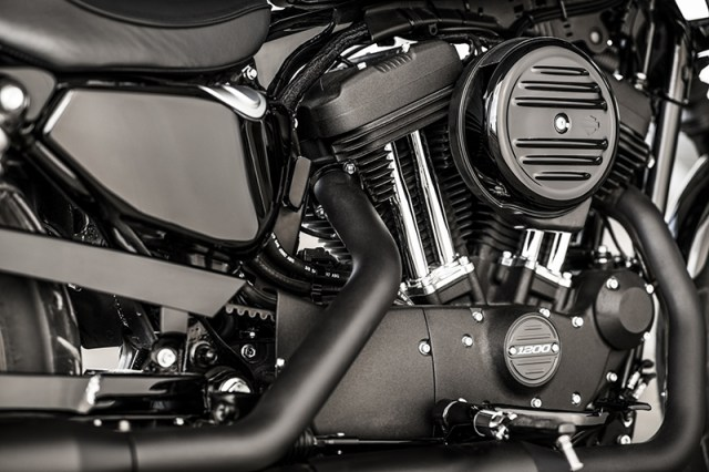 2018 Harley-Davidson Forty-Eight Special engine