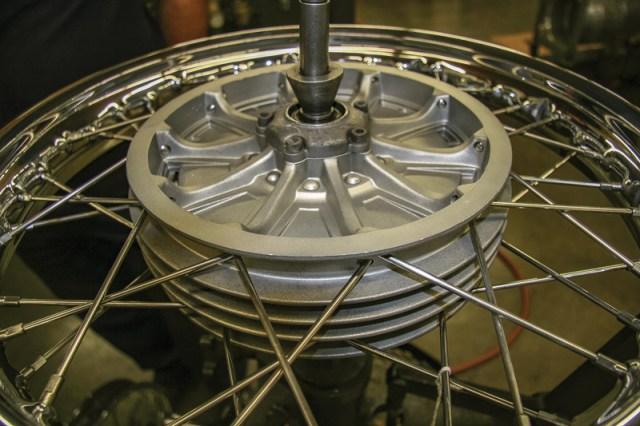 wheel lacing