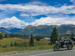 Colorado motorcycle ride