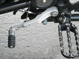 Wunderlich adjustable shift lever