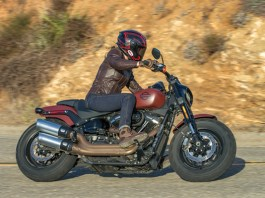 2018 Harley Fat Bob 114. Photo by Kevin Wing.