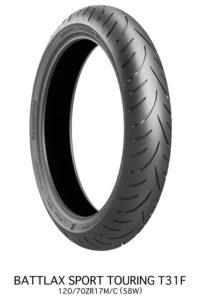 Bridgestone Battlax T31 sport touring tire