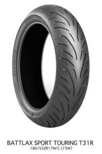 Bridgestone Battlax T31 sport touring tire rear