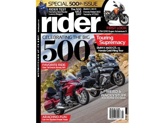 Rider May 2018 Cover