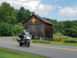 Central Pennsylvania motorcycle ride