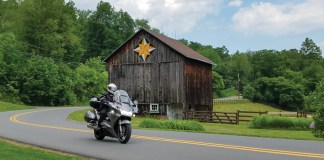 Central Pennsylvania motorcycle ride
