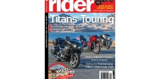 Rider magazine April 2018 cover