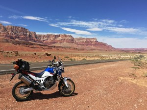 2018 Honda Africa Twin Adventure Sports Vermillion Cliffs