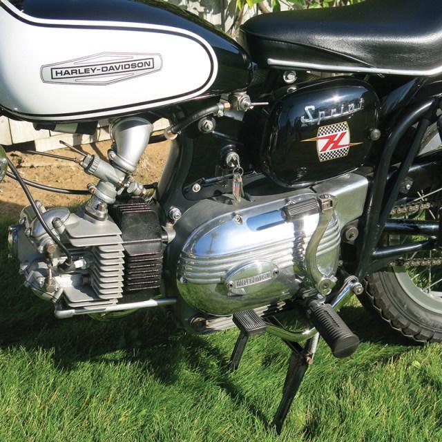 1964 Harley-Davidson 250 Sprint H