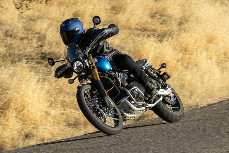 2021 Triumph Scrambler 1200XE Horsepower