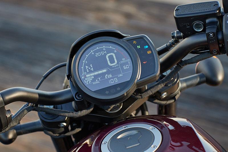 2021 Honda Rebel 1100 instrument panel