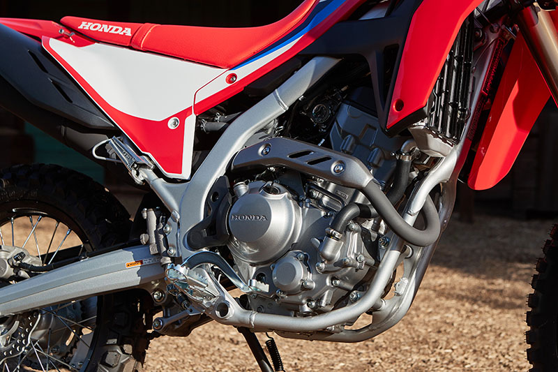 2021 Honda CRF300L Rally review engine