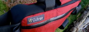 Wild cat frame bag