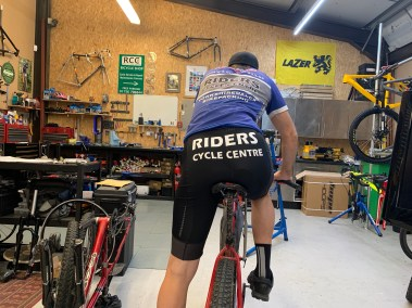 Personalised cycling clothing