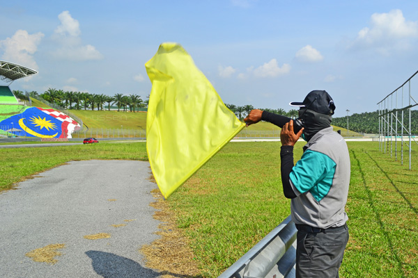 Yellow Flag MotoGP Bendera Kuning