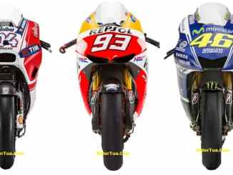 Ducati GP15 VS Honda RC213V VS Yamaha YZR-M1