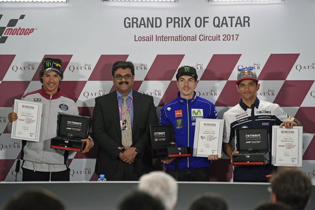 Maverick Vinales Pole Position GP Qatar