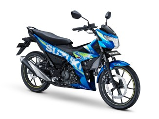 All New Satria F150 - 2017 - Met Triton Blue