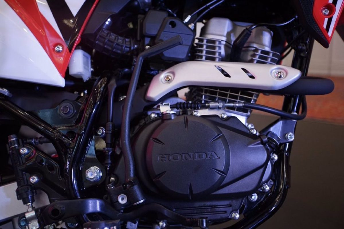 All New Honda CRF150L engine