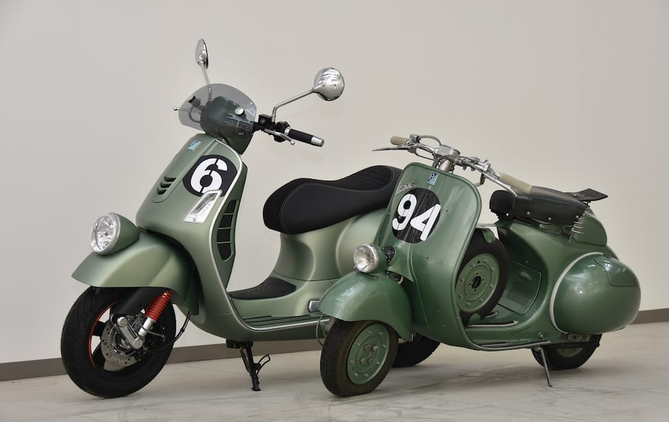 Sang Legenda Vespa Six Days Bakal Dijual di Indonesia