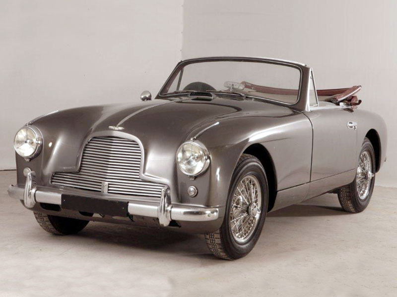 aston martin db drophead coupe 1956