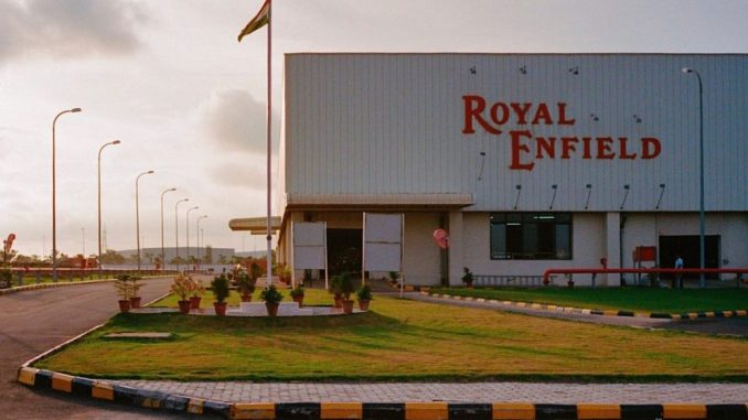 royal enfield factory india