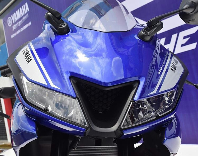 'HOT Project Code BS7' Yamaha R25 Baru, USD, VVA, Tampang New R15