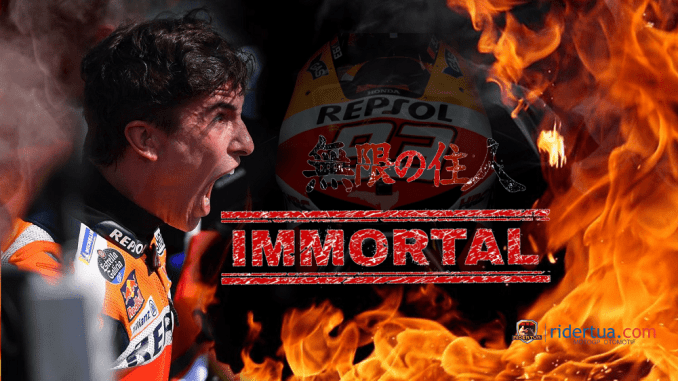 Marc Marquez 'The Immortal'