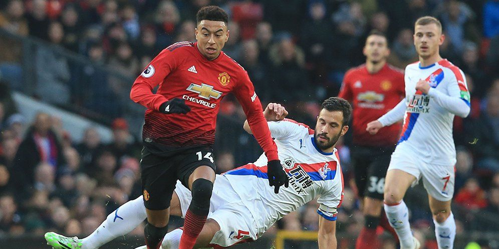 Statistik Laga Crystal Palace Vs Man United