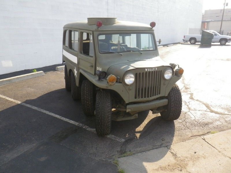 1953 Willys 8×8