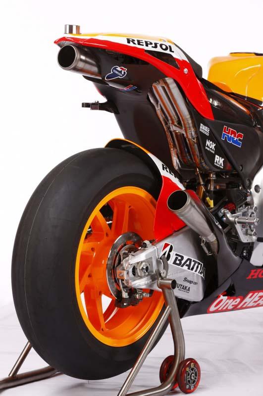 2012 Honda RC213V exhaust