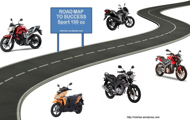 ROAD MAP SPORT terelis honda