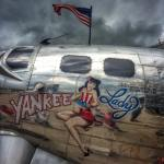 Because America Flying Fortress eaa flywithaopa airplane flying vintage patriot