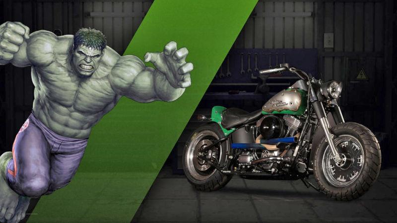 The Hulk Fat Boy® Lo Strength