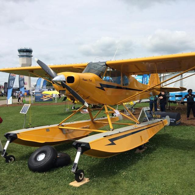 A Garmin equipped amphibious Super Cub You can win ithellip