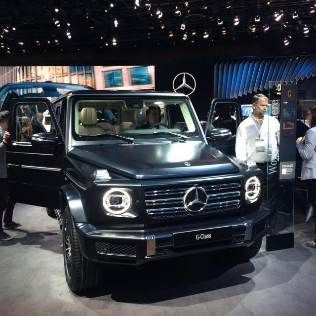 The new G Wagen is here! The new G Wagenhellip