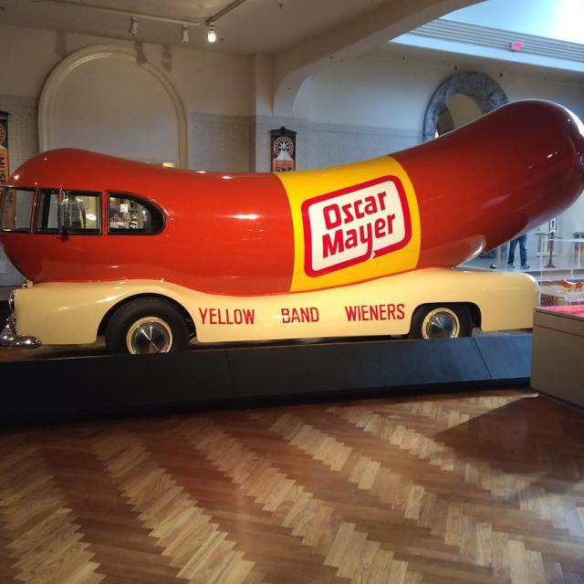 Just whistle oscarmayer thehenryford weinermobile
