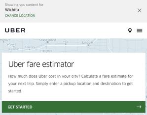 UberX vs UberBlack Cost
