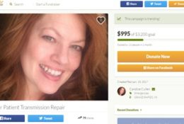 Lyft driver, stage 3 ovarian cancer patient needs transmission repair to work.